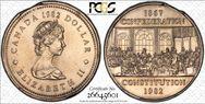 1982 $1 Constitution MS65