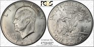 1971-S/S $1 Silver MS66
