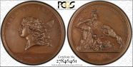 (1781) Medal Libertas Americana MS65BN