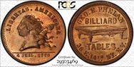 (1876) Token NY-NY 780A Copper MS65RD