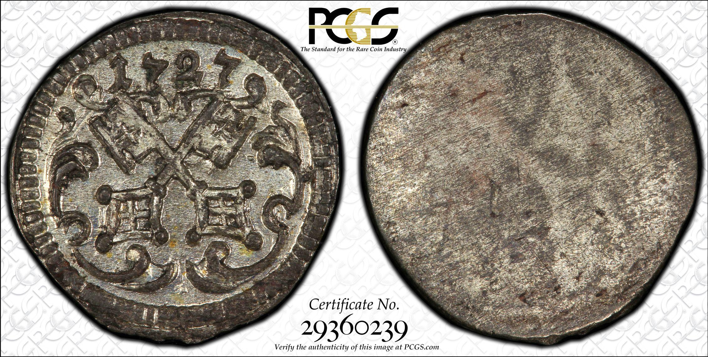 eBay: PCGS 1700\'s German Regensberg Pfennings / 1865 Hong Kong ...