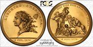 1976 Medal Libertas Am. Brass MS65