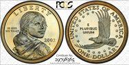 2002-S SAC$1  PR67DCAM