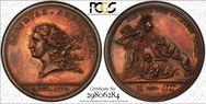 (1781) Medal Libertas Americana MS62RB