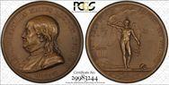 1784 Medal Betts-619 Bronze MS65BN
