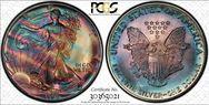 1992 $1 Silver Eagle MS66