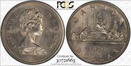 1976 $1 Voyageur Detached Jewels MS65