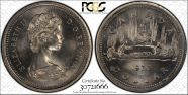 1977 $1 Voyageur MS66