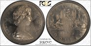 1968 $1 Voyageur MS63