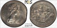 1970 $1 Manitoba MS64