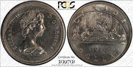1976 $1 Voyageur Detached Jewels MS63