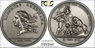 (1776) Medal Libertas Americana Silver - 2005 Restrike MS64