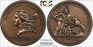 (1776) Medal Libertas Americana Bronze - 2005 Restrike MS64RB