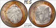 1996 $1 Silver Eagle MS68