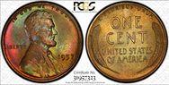 1957 1C  MS64BN