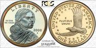 2008-S SAC$1  PR69DCAM