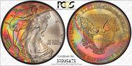 1999 $1 Silver Eagle MS67