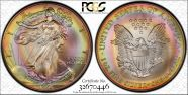 1996 $1 Silver Eagle MS67