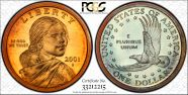 2001-S SAC$1  PR68DCAM