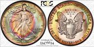 1986 $1 Silver Eagle MS67