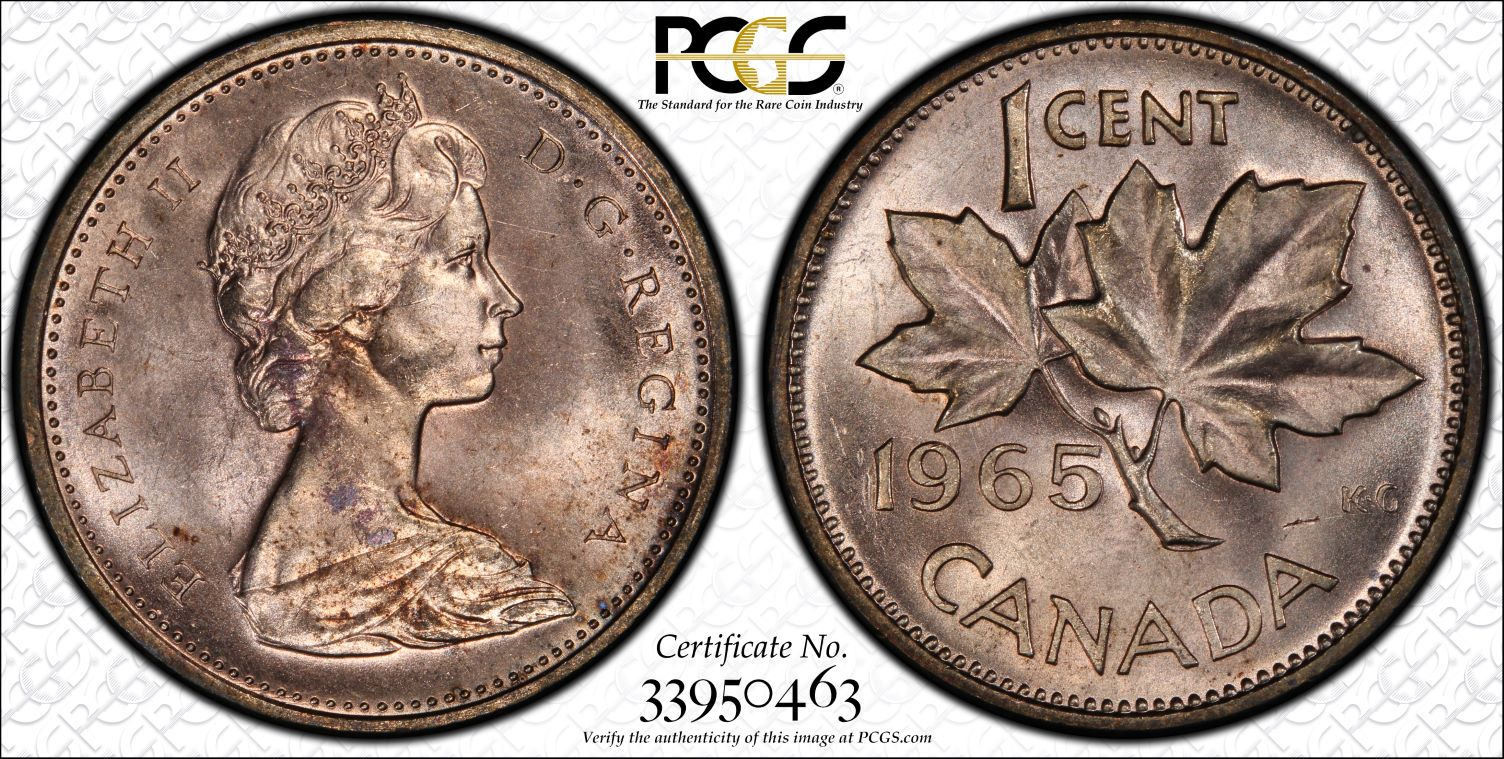 PCGS Set Registry - SPP Canada Small Cent Off-metal Errors