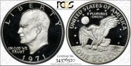 1971-S $1 Silver PR69DCAM