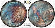 1878 7/8TF $1 7TF, Reverse of 1878 MS63