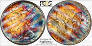 1990 $1 Silver Eagle MS68