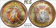 1992 $1 Silver Eagle MS67