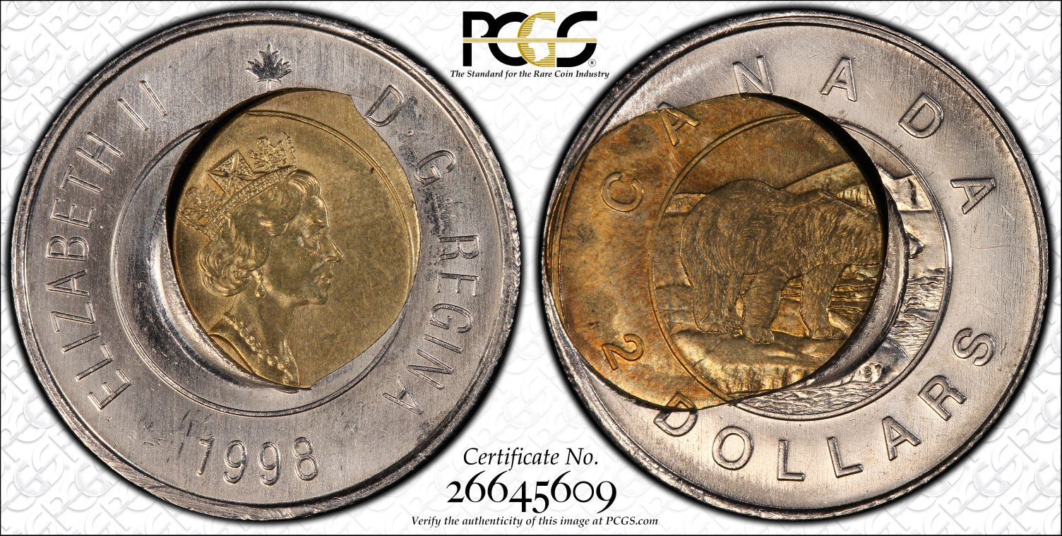 PCGS Set Registry - Collectors Showcase: Error Twoonies